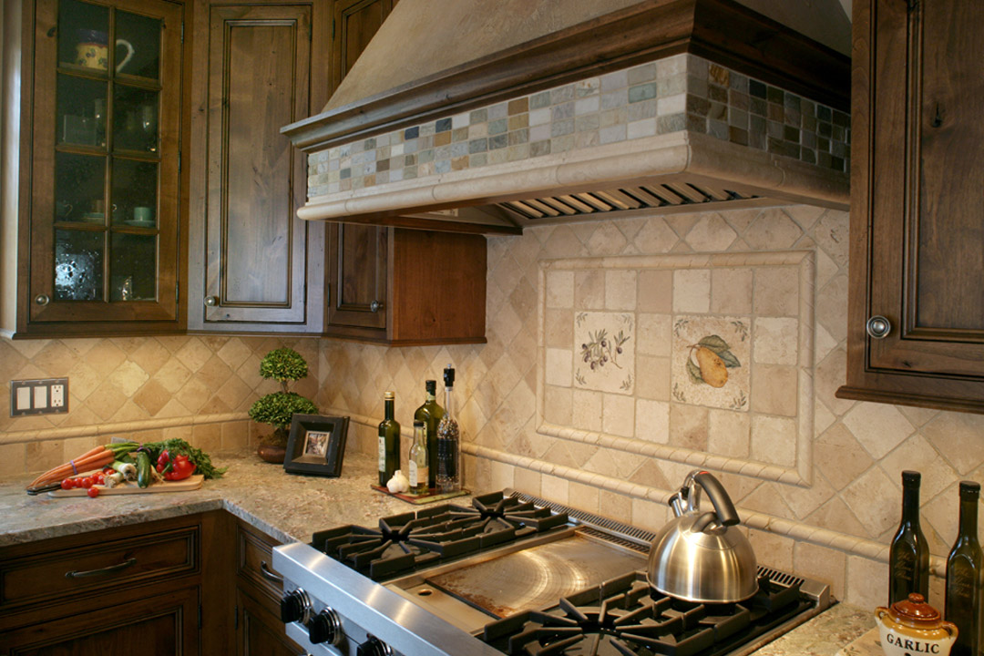 Kitchen Backsplash Minneapolis Tudor Interior Design