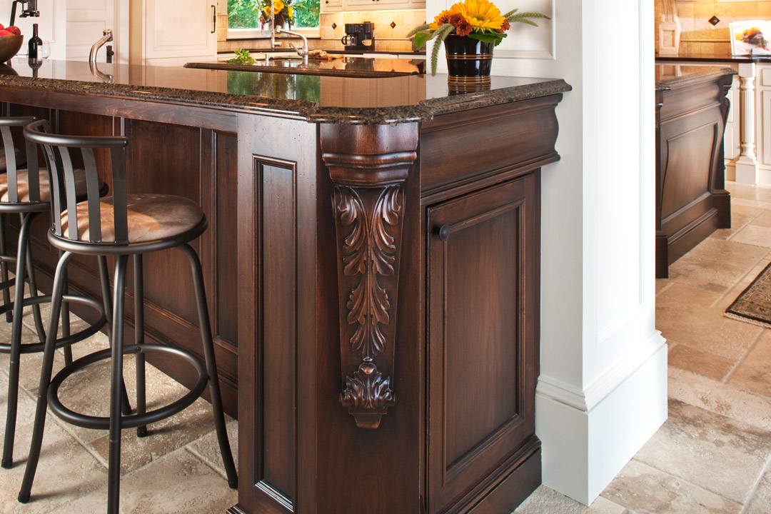 Bar Details Bald Eagle Lake Interior Design