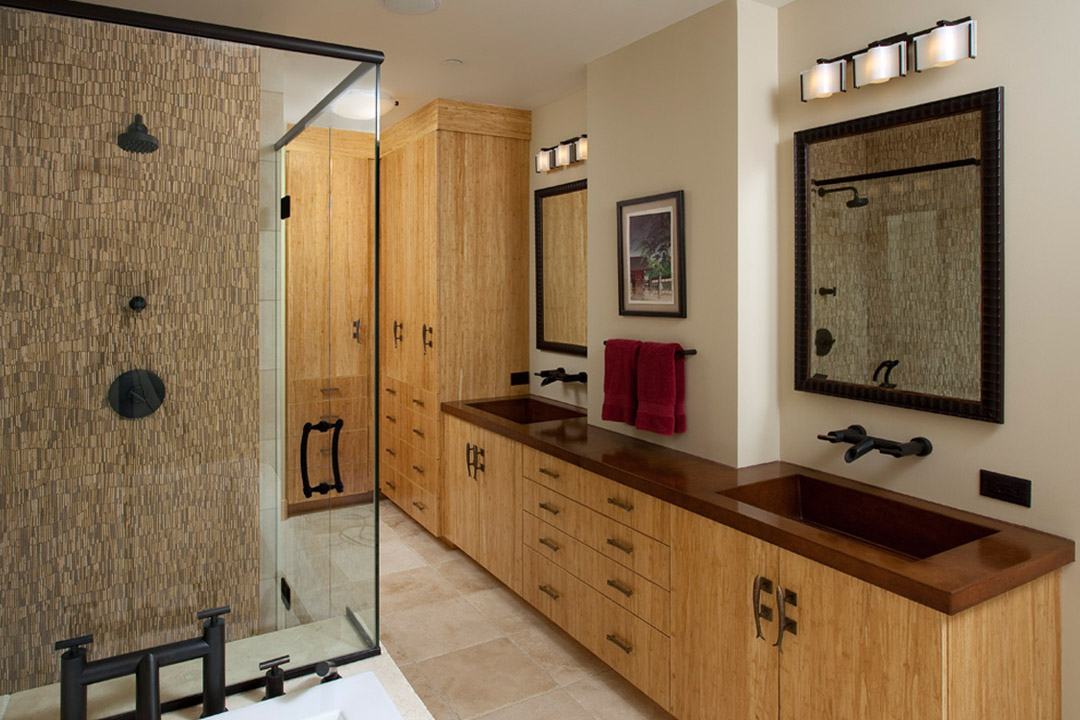 Master Bathroom St. Anthony Main Minneapolis Interior Design