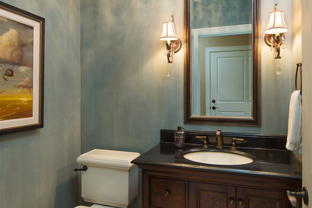 Powder Room Vadnais Heights Interior Design
