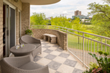 Condo Balcony Sitting Area Design Minneapolis