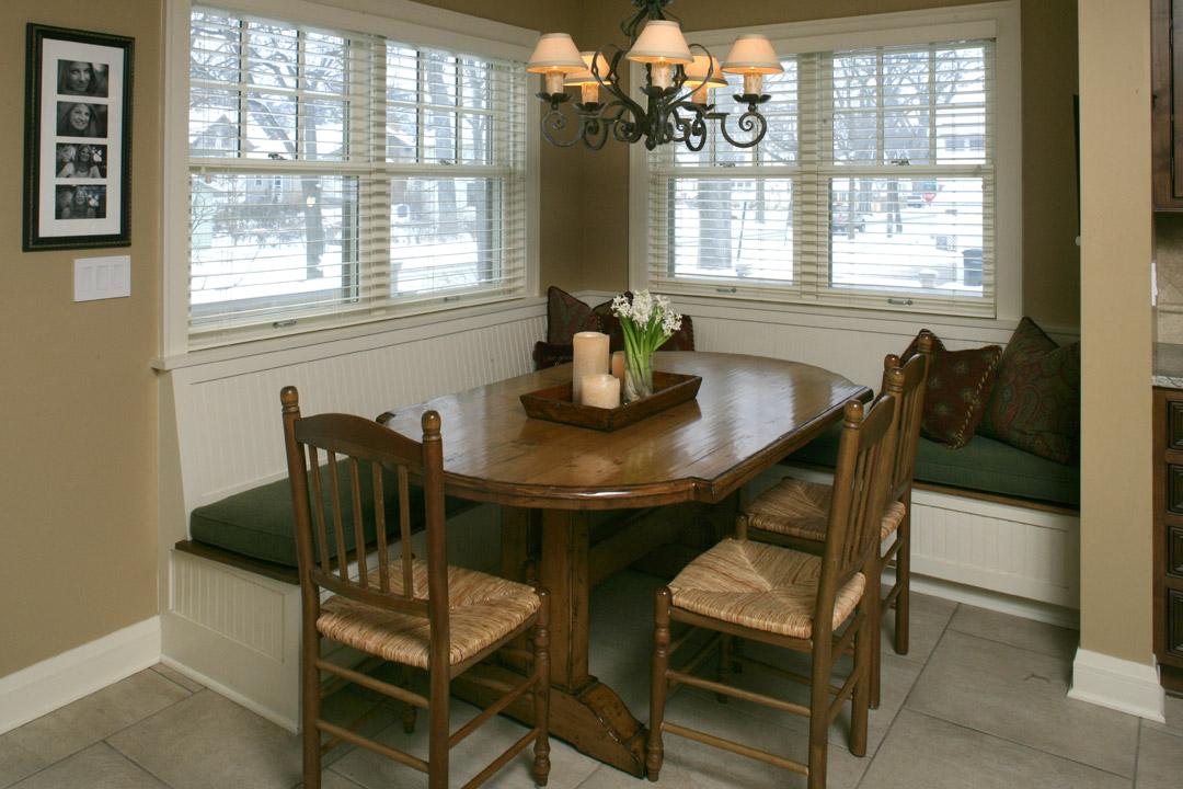 Dining Area Minneapolis Tudor Interior Design