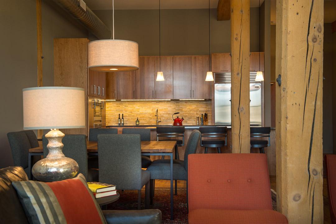 Downtown Loft Interior Design