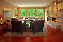 Family Room Minnetonka Rambler Interior Design