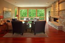 Family Room Minnetonka Rambler Interior Design