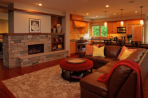 Fireplace Minnetonka Rambler Interior Design