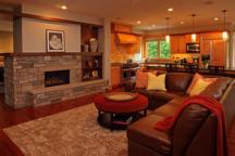 Fireplace Minnetonka Rambler Interior Design
