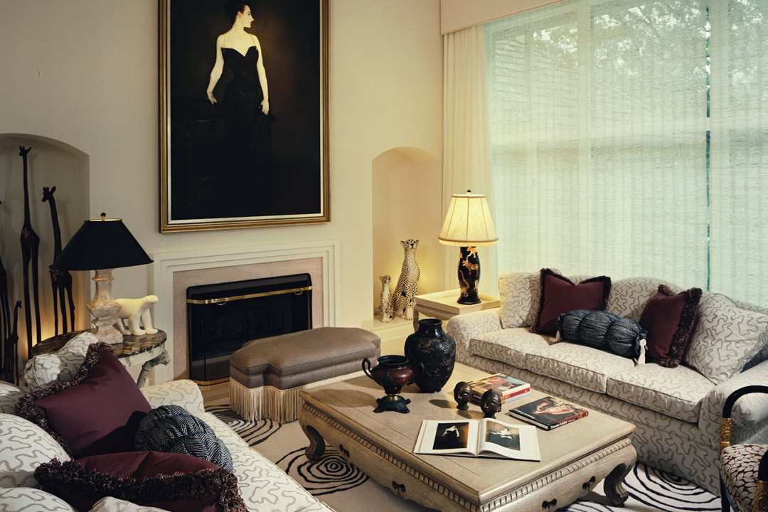 Formal Living Room Minneapolis, MN Interior Design