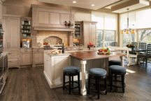 Gourmet Kitchen Minneapolis, MN Interior Design
