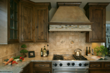 Kitchen Cabinets and Backsplash Minneapolis Tudor Interior Design