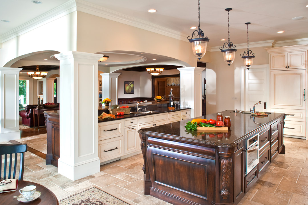Kitchen Bald Eagle Lake Interior Design