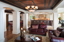 Living Room Bald Eagle Lake Interior Design