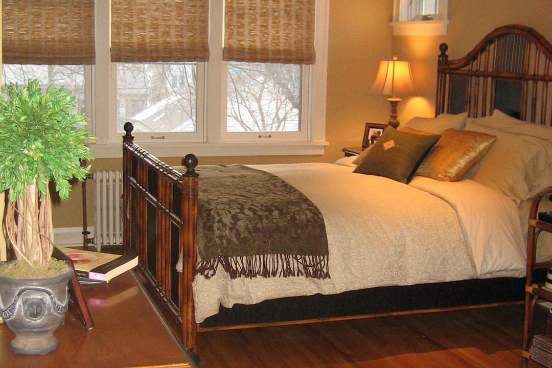 Master Bedroom Minneapolis Tudor Interior Design