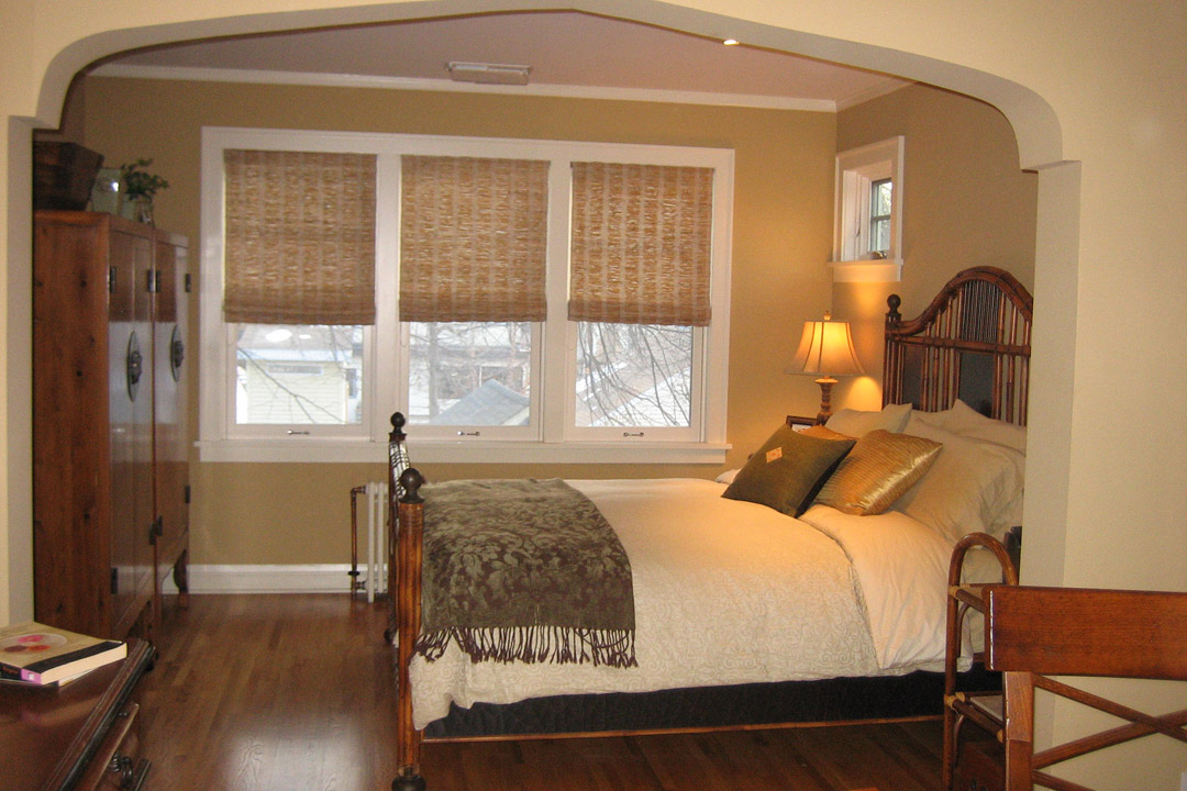 Master Bedroom Minneapolis Tudor Interior Design